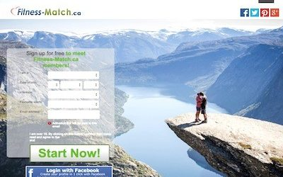 Leading Fitness Single Dating Site: Fitness-Match.ca