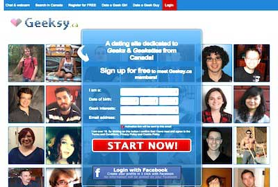 Leading Geek Dating Service: Geeksy.ca