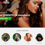OneNite.ca – Nothing serious, just for one night…
