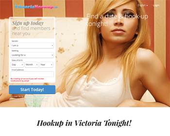 VictoriaHookup.ca – A Reliable Site to Hookup Quickly in Victoria