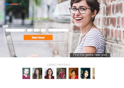 Looking for Geek Dating & Nerd Dating? Try GeekLovers.ca