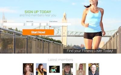 FitnessLover.ca – Meet Fit Singles in Canada
